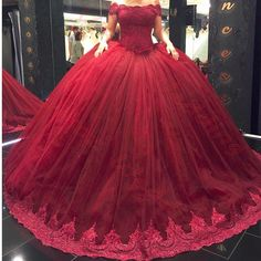 Burgundy Quinceanera Dresses With Appliques Lace Off the Shoulder Sweet 16 Dress Masquerade Prom Ball Gowns Plus Size Vestidos de 15 anos Tulle Ball Gown, Ball Gowns Prom, Tulle Prom Dress, Cheap Prom Dresses, 15 Dresses, Ball Dresses, Party Gowns, Evening Dresses, Tulle Lace