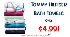 GREAT BUY! Get Tommy Hilfiger Bath Towels for only $4.99 (reg $16!) Hand towels are only $2.99 and washcloths are only $1.99! Is it time to replace those old towels?  Or how about grabbing some gifts!  Click the link below to get all of the details ► http://www.thecouponingcouple.com/tommy-hilfiger-all-american-bath-towels-only-4-99/ #Coupons #Couponing #CouponCommunity  Visit us at http://www.thecouponingcouple.com for more great posts!