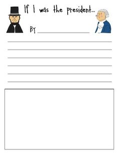 If i were president writing paper essay to - designer writing paper ...