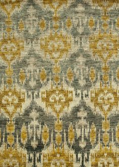 The sumptuous Xavier Collection is distinguished by its plush feel and bright, bold color palette. Hand knotted with 100% jute from India, Xavier's large scale Ikat design offers sophistication that works as an incredible centerpiece for a variety...