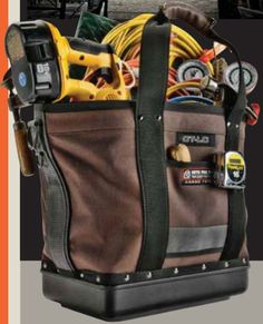 Veto Pro Pac Cargo Tote Tool Bag Filled with Tools 20641f943a0b6