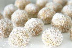 No Bake Coconut Ball Dog Treats | Pretty Fluffy