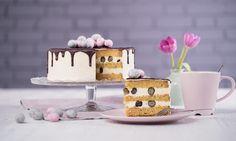 Drip-Cake mit Heidelbeeren  Rezept | Dr. Oetker
