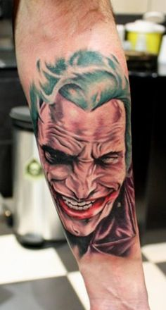 Tattoo Artist - Alex Gotza  - Joker tattoo