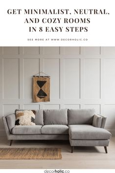 Minimalism is not having less. It's about having and keeping essentials. As these uncertain and stressful times, having less is not a problem. Minimalist is often connected with 'Less is more'. The use of neutral looks is key ingredients in minimalist interior design. Then, how we get minimalist in every room in our home? What's minimalist really? #decorholic #minimalistinteriordesign #minimalist #designinspiration #interiordesign #neutral #homedecor