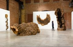 "Ursula von Rydingsvard, ""documenting my dreams makes me feel lighter"" Wood Sculpture, Sculptures, Wood Tree, Ursula, Sculpting, Contemporary Art, Fiber, Crafts, Human Body"