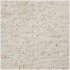 Mini Split Face Stone Tile Crema Marfil
