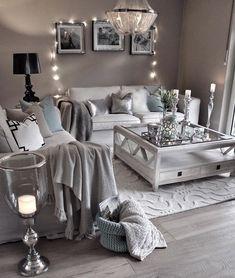 Wohnzimmer grau-weiß | Living Room | Pinterest | Wohnzimmer grau ...