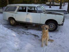 Usva and Peugeot 404LD 1966