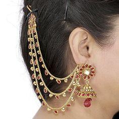 Aarohee Orecchini indiani tradizionali da matrimonio, con... http://www.amazon.it/dp/B01BBSZBOE/ref=cm_sw_r_pi_dp_nrnoxb1SD4E5N