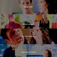 "SNOW+BARRY - Caitlin and Barry ""I'm in love with you"" - Snowbarry The Flash"