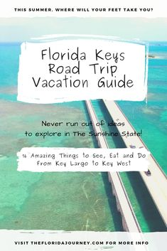 16 Epic Things to See, Eat and Do Between Key Largo and Key West - A Florida Road Trip Guide - Planning a Florida Keys Road Trip Vacation? We've got you covered! Check out our great insider tr - Road Trip Florida, Visit Florida, Florida Vacation, Florida Travel, Florida Beaches, Vacation Spots, Travel Usa, Travel Tips, Hotels In Florida Keys