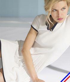 Robe maille tricotée en France | Devernois Maille de Luxe SS18