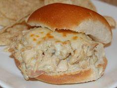 Cassie Craves: Pulled Chicken Suiza Sandwiches
