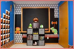 Video game room decor bedroom x auto barbie house decoration games cool home design gold inspired . Room Ideas Bedroom, Bedroom Themes, Kids Bedroom, Bedroom Decor, Bedroom Designs, Dream Bedroom, Bed Room, Kids Rooms, Master Bedroom