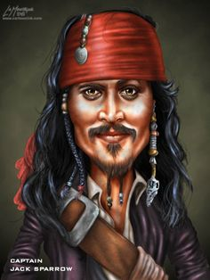 Gallery For > Jack Sparrow Caricature