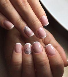 Наращивание ногтей френч – Ногтевая студия «Ногти Люкс» (Киев)