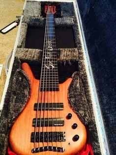 Jeff Hughell 7 String Bass guitar
