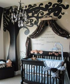 "MUST have a ""nursery"" in the bed and breakfast, with a couple cribs for parents."