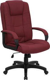 Flash office chair - Pin it :-) Follow us :-)) AzOfficechairs.com is your Office chair Gallery ;) CLICK IMAGE TWICE for Pricing and Info :) SEE A LARGER SELECTION of  flash office chair at http://azofficechairs.com/?s=flash+office+chair - office, office chair, home office chair -  Flash Furniture GO-5301B-BY-GG High Back Burgundy Fabric Executive Office Chair « AZofficechairs.com