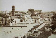 Rome & Il Colosseo 1860 (ca)