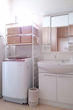我が家の狭い洗面所!明るく&使いやすく改造計画(`・ω・´)ノついに完結編! | ちいさな建売、おしゃれハウスを目指す