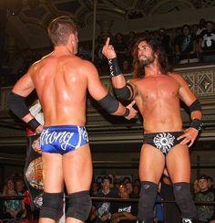 Roderick Strong & Tyler Black (Seth Rollins)