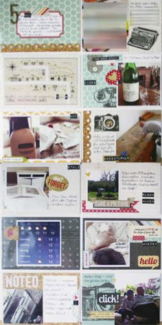 Project Life mit dem #dpJulikit13 von Jessica für www.danipeuss.de