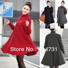 Plus Size XXL Wool Maternity Winter Jacket Outerwear for Pregnant Women Top Coat 2013 Fashion Woolen Knit Collar Gravida Clothes