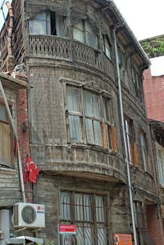 Visit the post for more. Istanbul, Wooden House, Old Buildings, Ottoman, Sweet Home, Street View, Windows, Architecture, Houses