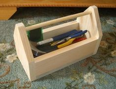 Free Tool Box Plans - How to Make Tool Box Caddies Contact us on how to add your listing to our dayboro business and events page. Wooden Tool Caddy, Wood Tool Box, Wooden Tool Boxes, Wood Tools, Small Wooden Projects, Wooden Crafts, Diy Wood Projects, Furniture Projects, Diy Furniture