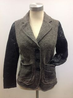 Melton quilted blazer at #Nicci