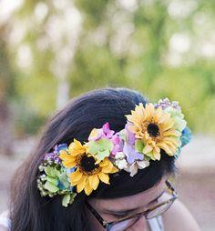 diy: diadema de flores