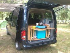 1000 images about evalia camper on pinterest nissan. Black Bedroom Furniture Sets. Home Design Ideas