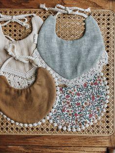 Pretty handmade ethically bibs, original designs by billy bibs