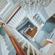 Breathtaking stairs in Swanson Celadon. Love Your Home, Stairs, Flooring, Interior Design, Luxury, Building, Instagram Posts, Inspiration, Carpet