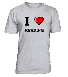 I Heart Reading  #gift #idea #shirt #image #funny #education #job #new #best #top #hot
