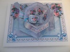 This easy Time for Tea Pop-Up kit is a pop-up Cup and Saucer and is an original pop-up template that I have created. Perfect for Mother?s Day or other female occasions. The finished Card has a real WOW factor, and I?m sure any of your recipients, will be so impressed that you have made it, and it is sure to take pride of place on their mantelpiece! Each kit contains 6 sheets and includes Card Front; Decoupage for the Card Front; Card Back; Cup and Saucer Pop-Up; Mat Insert; Spoon and Tea…