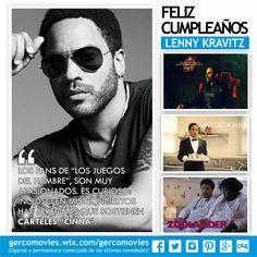 Y una leyenda del rock cumple 51 años, el neoyorquino #LennyKravitz el cual, la música y el cine han sido parte de su vida. #LosJuegosDelHambre.