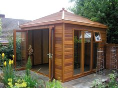 little garden house - Google Search smoking area options Gazebo, Smoking, Shed, Home And Garden, Lounge, Outdoor Structures, Google Search, Airport Lounge, Lean To Shed