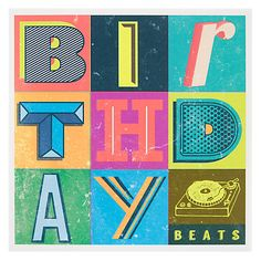 Buy Woodmansterne Beats Birthday Card Online At Johnlewis Design Fun