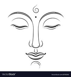 buddhism, yoga, sacred spiritual, zen ink drawing isolated on white. Budha Painting, Zen Painting, Budha Art, Yoga Kunst, Buddha Drawing, Buddha Kunst, Buddha Wall Art, Indian Art Paintings, Abstract Paintings