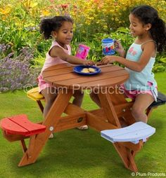 21 Best Picnic Tables For Kids Images Kids Picnic Table