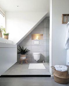 minder, maar ok Dormer Roof, Interior Styling, Interior Design, Roof Extension, Duplex House Plans, Attic Bedrooms, Attic Renovation, Upstairs Bathrooms, Sweet Home