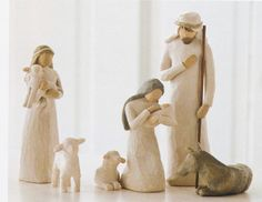 Willow Tree® Nativity Figure Set - Holy Family  ( Set of 6 ) Visit us today for all your Willow Tree® items!