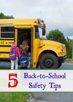 5 Back-to-School Safety Tips – Afropolitan Mom Walk To School, Back To School Hacks, The New School, New School Year, School Days, School Stuff, Parenting Humor, Parenting Advice, Kids And Parenting