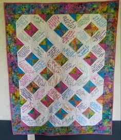 41 Best Wedding Signature Quilts Images Signature Quilts Memory