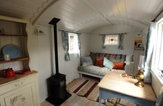 Shepherds Hut Interior Plans For Holidays 99 Ideas You Should Try