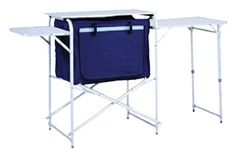 Camping tables - Pin It :-) Follow us :-))  zCamping.com is your Camping Product Gallery ;) CLICK IMAGE TWICE for Pricing and Info :) SEE A LARGER SELECTION of camping tables at http://zcamping.com/category/camping-categories/camping-furniture/camping-tables/ -  hunting, camping, camping tables, camping gear, folding tables, portable tables, tables, camping accessories - Ming's Mark TA-8105 56 X 19 X 31 Table with Storage and Carry Bag « zCamping.com