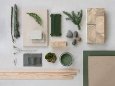 Lovely mood board with nature materials. For a sustainable house by Note Design Studio, Sweden. Lovely mood board with nature materials. For a sustainable house by Note Design Studio, Sweden. Note Design Studio, Notes Design, Identity Design, Mood Board Interior, Moodboard Interior Design, What Is Fashion Designing, Material Board, Mood And Tone, E Mc2